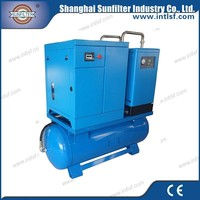 Factory direct sale 11kw 15hp screw air compressor unit