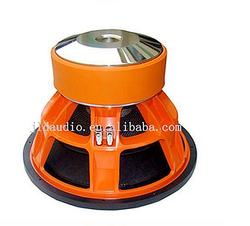 JLD AUDIO SPL 15 inch High Power car subwoofer with Orange aluminum basket