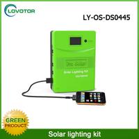 Home solar power system led mini solar light kits 5W / 12V