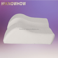 Elegant Butterly Middle Concave Natural Latex Foam Wedge Pillows