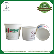 Ice Cream Tubs Gelato Cups Paper Bowls Disposable Food Container