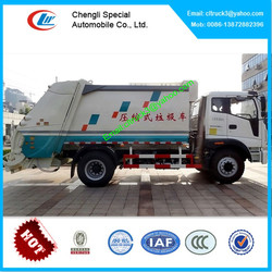 Foton compactor truck,garbage truck compactor