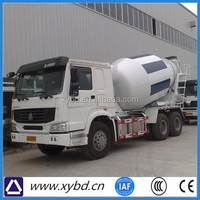 Nissan small volume of a concrete mixer truck
