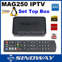 arabic iptv box MAG 250 best ip tv set top box digital receiver free dish French iptv channels