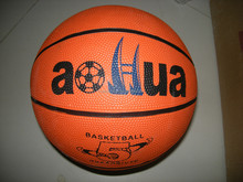 popular rubber promotional basketball size 5 customized logo printing