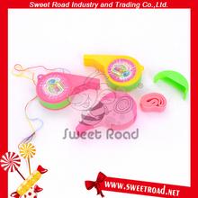 Whistle Tape Bubble Gum