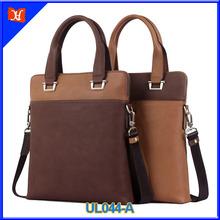 Hot sale fashion genuine leather briefcase office men bag 2014 beauty briefcase