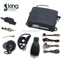 Car alarm system with built-in central shock sensor/ auto alarmas