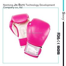 Custom logo cheap leather boxing gloves