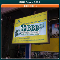 China made metal outdoor advertising standing signboard