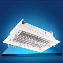 High lumens 70w gas station led canopy lights with UL driver