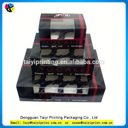 2015 recycle promotional wholesale box cupcake