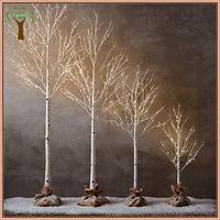 decorative led lighting artificial birch tree