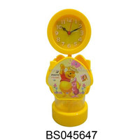 Newest Product DIY Childrens Picture Frame 4 in 1 Plastic Musical Pen Holder with Clock