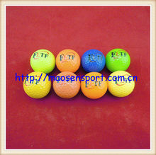high quality two piece colorful golf driving range balls can oem logo