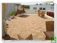 Economic Waterproof Wpc Diy Deck Solar Lighting Tiles For Garden