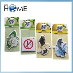 Best Sale Logo Print Paper Car Air Freshener for Promotion Gift