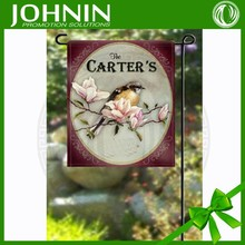 personalized decorative garden flags with your novel design