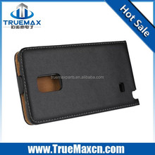High quanlity Case for Samsung Galaxy Note Edge Real Leather Case, Open Up to Down
