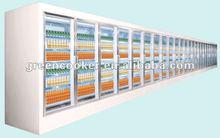 Grande bebidas / acessórios de sorvete exibição congelador