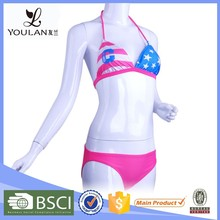 Good Quality Breathable China Factory Graceful Photos Sexy Open Women Bikini