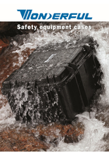 plastic safety equipment case with waterproof