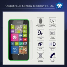 9h 0.33mm safeguard tempered glass screen protector for nokia lumia 630