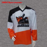 all sizes sports ice hockey jersey made in china
