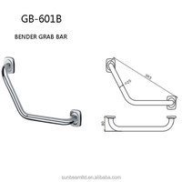 Bathroom 304 Stainless Steel Safety Grab Bars with High Quality