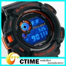 50M Waterproof Dive Watch Alarm Date Digital Wristwatches For Men And Women Sports Watch