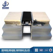 aluminum profile flush rubber floor expansion joints in building materials