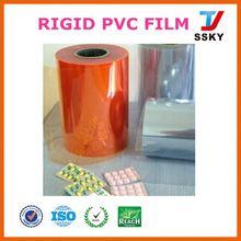 Standard FOB soft film in roll pvc blue plastic rolls