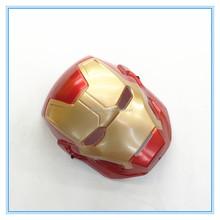 Wholesale Iron Man Mask PVC Plastic Full Kids Face Mask