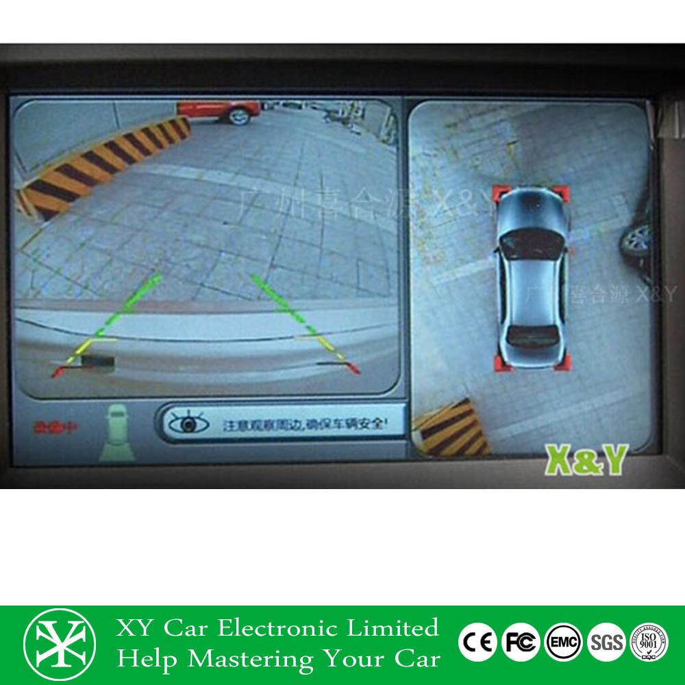 360 Degree Car Security Camera Bird View System Car Black