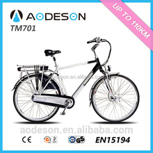 Hot selling city electric bicycle/bike Aodeson ebike TM701 bicicleta electrica made in China