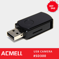 SD300 1280*720 @30fps usb flash drive support TF card