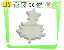 unfinished decorative tree shaped wooden craft