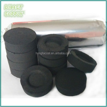33mm 40mm round bamboo hookah charcoal