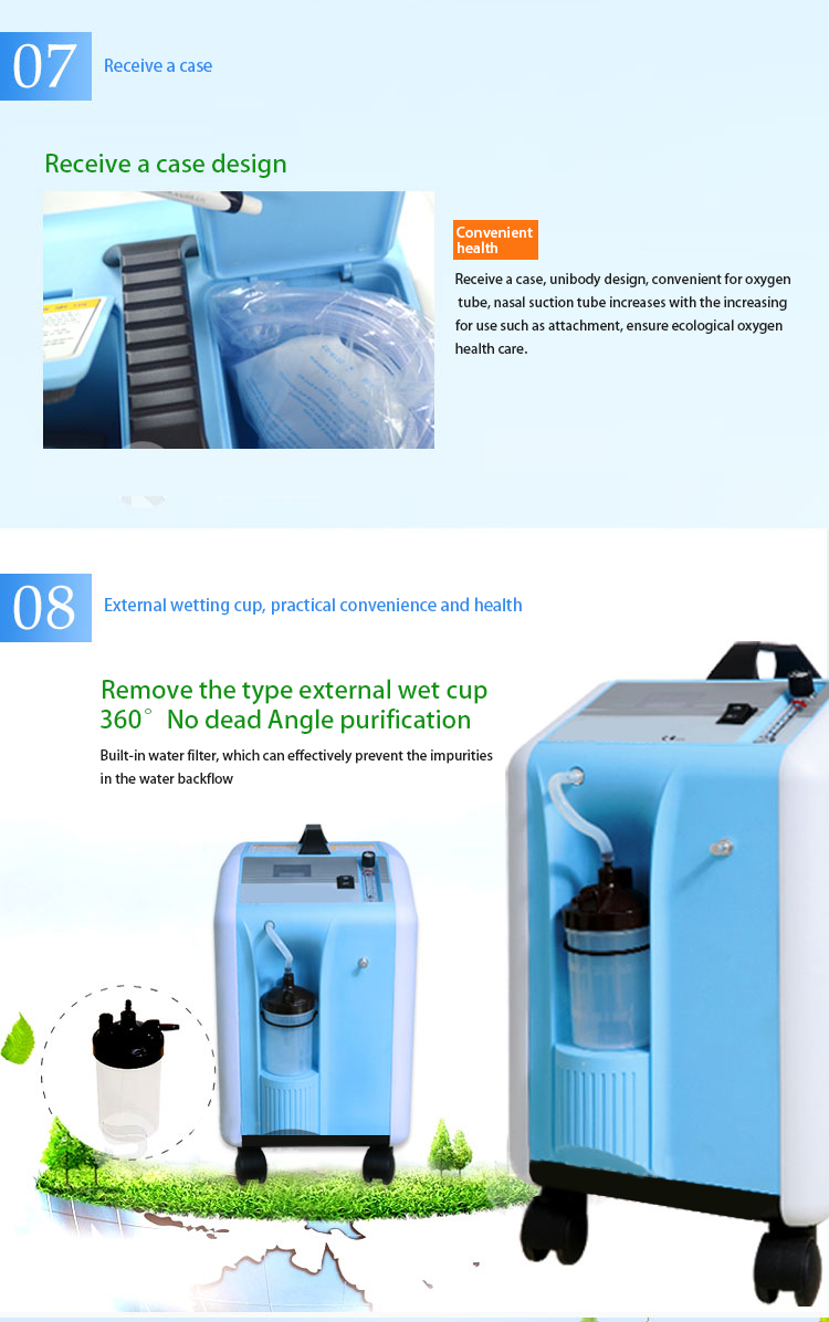 2015 Best Price Medical Portable Oxygen Generator For Home