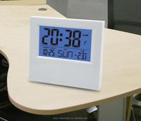 EN5026B ESUN North Europe concise style LCD digital desktop table alarm calendar clock