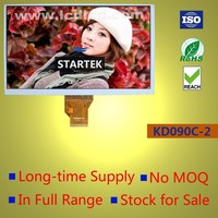 9.0 inch TFT LCD with 24bit RGB interface ,digital LCD screen 800x480
