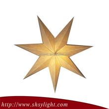 High End Good Reputation Christmas Decoration Lighted Star