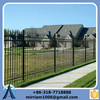 2015 China sale 2.1m(H)x2.4m(W) square tube metal picket fence(factory sale and export)
