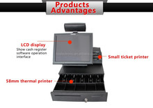 Factory price POS ECR electronic cashier register with cashier application software