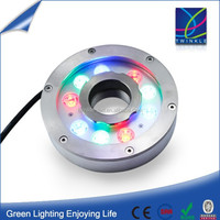 IP68 waterproof fountain led underwater light 27W