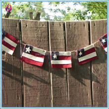Felt Folk American Flag,banner flag,string flag for the Patriotic Home