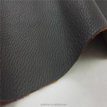 Pu coated cow split leather for outdoor safety shoes