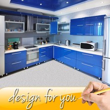 Free Design Customized Color Bespoke Kitchen Cabinets