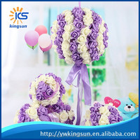 2015 Best Selling New Brand Wall Hanging Artificial Flowers for Wedding Decoration
