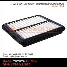 17801-21020 Air Filter Air Intake Filter for Toyota Pruis